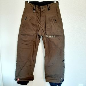 Bonfire Particle Brown Snow Pants Size Small/Med